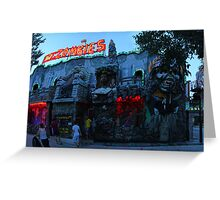 Praterstern Park, Zombies Greeting Card