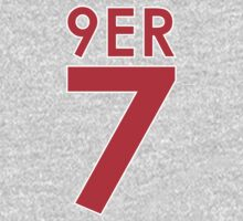 """9ER 7"" - A tribute to QB #7 Colin Kaepernick of the San Francisco 49ers One Piece - Long Sleeve"