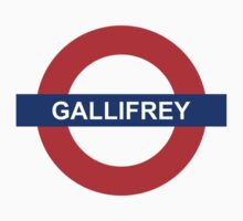 Underground: Gallifrey Kids Clothes