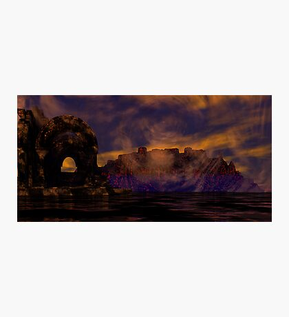 Burial Valley of the Red Wind Photographic Print