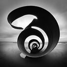 Mary's Shell - Cleveleys Beach by David Jones