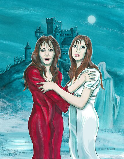 The Vampire Lovers by aglastudio