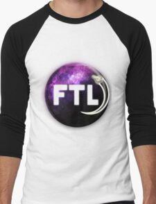 Faster Than Light. Men's Baseball ¾ T-Shirt