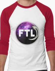 Faster Than Light. Men's Baseball ¾ T-Shirt
