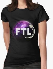 Faster Than Light. Womens Fitted T-Shirt