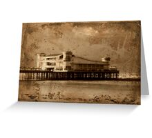 The Grand Pier Greeting Card