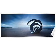 Mary's Shell - Cleveleys Beach panoramic Poster