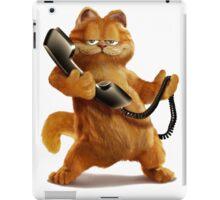 Garfield Telephone iPad Case/Skin