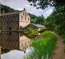 Gibson Mill by Steve  Liptrot