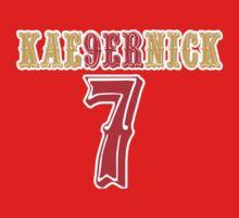 [CLASSIC] KAE9ERNICK 7 - QB #7 Colin Kaepernick of the San Francisco 49ers Kids Clothes