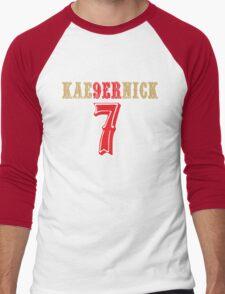 [CLASSIC] KAE9ERNICK 7 - QB #7 Colin Kaepernick of the San Francisco 49ers Men's Baseball ¾ T-Shirt