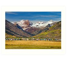 Crested Butte Colorado Autumn View Art Print