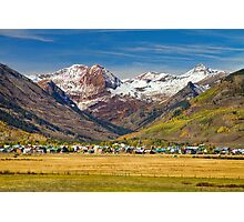 Crested Butte Colorado Autumn View Photographic Print
