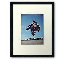 Gotcha Framed Print