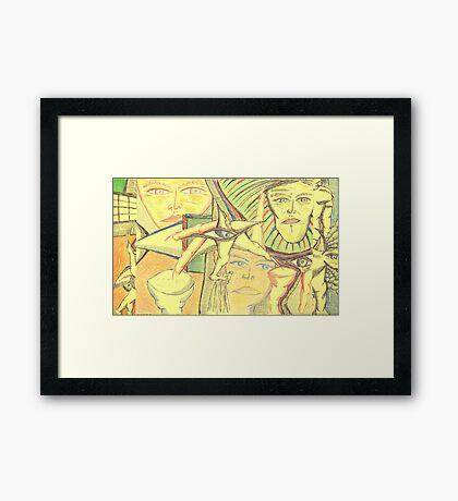 aero-glance Framed Print