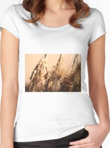 Opium Women's Fitted Scoop T-Shirt