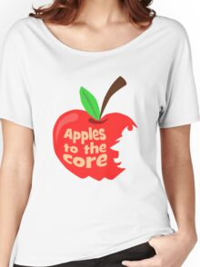 Apples to the core: Applejack Women's Relaxed Fit T-Shirt