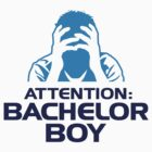 Attention: Bachelor Boy by artpolitic