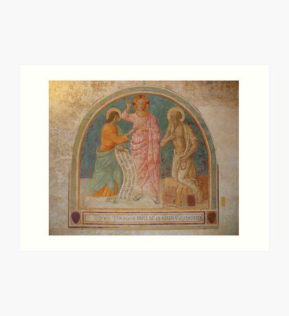 The Incredulity Of St Thomas Art Print