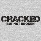 "Community ""Cracked But Not Broken"" Ass-crack Bandit Tshirt by fabricate"