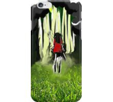 Lift Off (red) iPhone Case/Skin