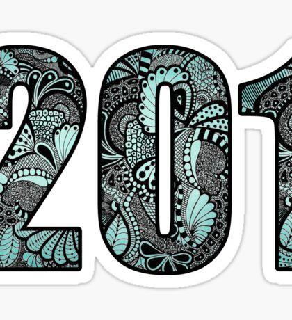 201 Doodle Sticker