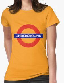 Underground Womens Fitted T-Shirt