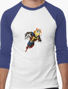 Super Hero Men's Baseball ¾ T-Shirt