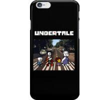 Undertale - Abbey Road  iPhone Case/Skin