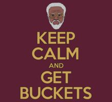 "Uncle Drew ""Keep Calm and Get Buckets"" by rolandjayson"