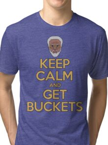 """Uncle Drew """"Keep Calm and Get Buckets"""" Tri-blend T-Shirt"""