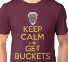 """Uncle Drew """"Keep Calm and Get Buckets"""" Unisex T-Shirt"""