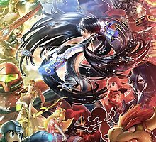Bayonetta VS Super Smash Bros by Fubu