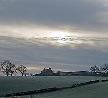 Winter farm by Ian Maclellan