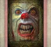 Carnival Banner - That Evil Clown by Gregory Dyer