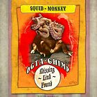 Carnival Banner - Squid Monkey by Gregory Dyer