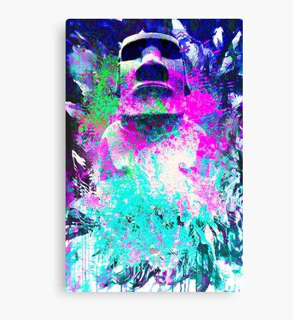 moai Journey Canvas Print
