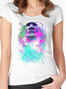 moai Journey Women's Fitted Scoop T-Shirt