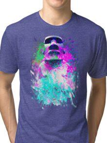 moai Journey Tri-blend T-Shirt