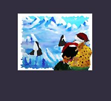 Mr. & Mrs. Claus visit the Orcas Unisex T-Shirt