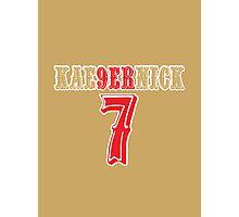 [CLASSIC] KAE9ERNICK 7 - QB #7 Colin Kaepernick of the San Francisco 49ers Photographic Print