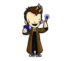 10 The Doctor, Doctor Who tenth Photographic Print