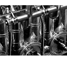 Music In Black & White Photographic Print