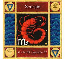Scorpio (coloured) Photographic Print