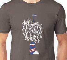 Don't Shave for Sherlock Unisex T-Shirt