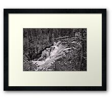 1st Tier - Terraced Falls #4 Framed Print