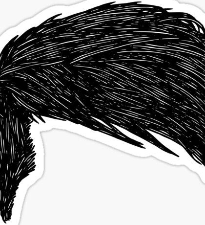Dan And Phil Hair 2015 Sticker