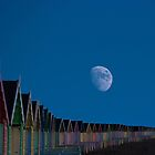 Moon Over Mersea Island Essex  by liberthine01