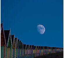 Moon Over Mersea Island Essex  Photographic Print
