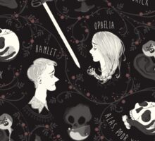 Shakespearean pattern - Hamlet Sticker